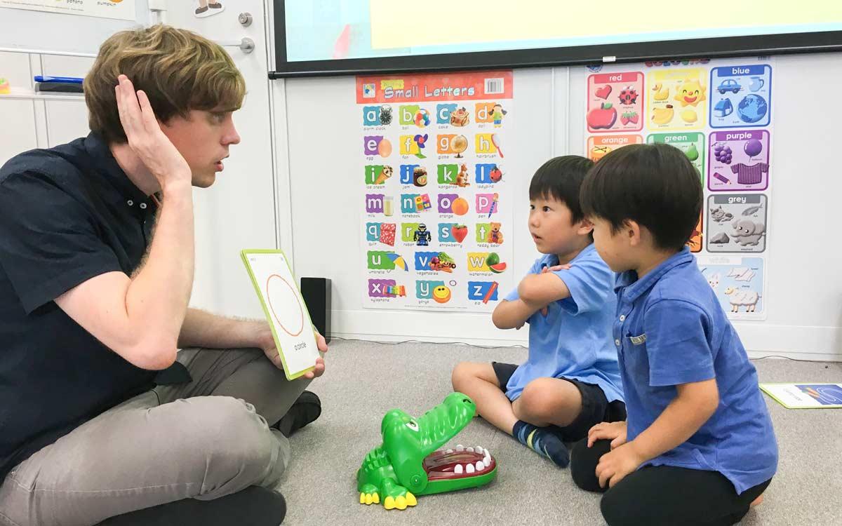 幼稚園英会話