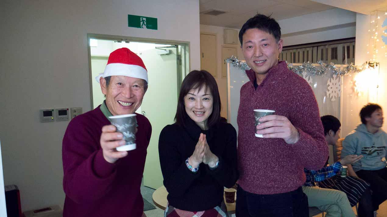 クリスマスパーティーの写真