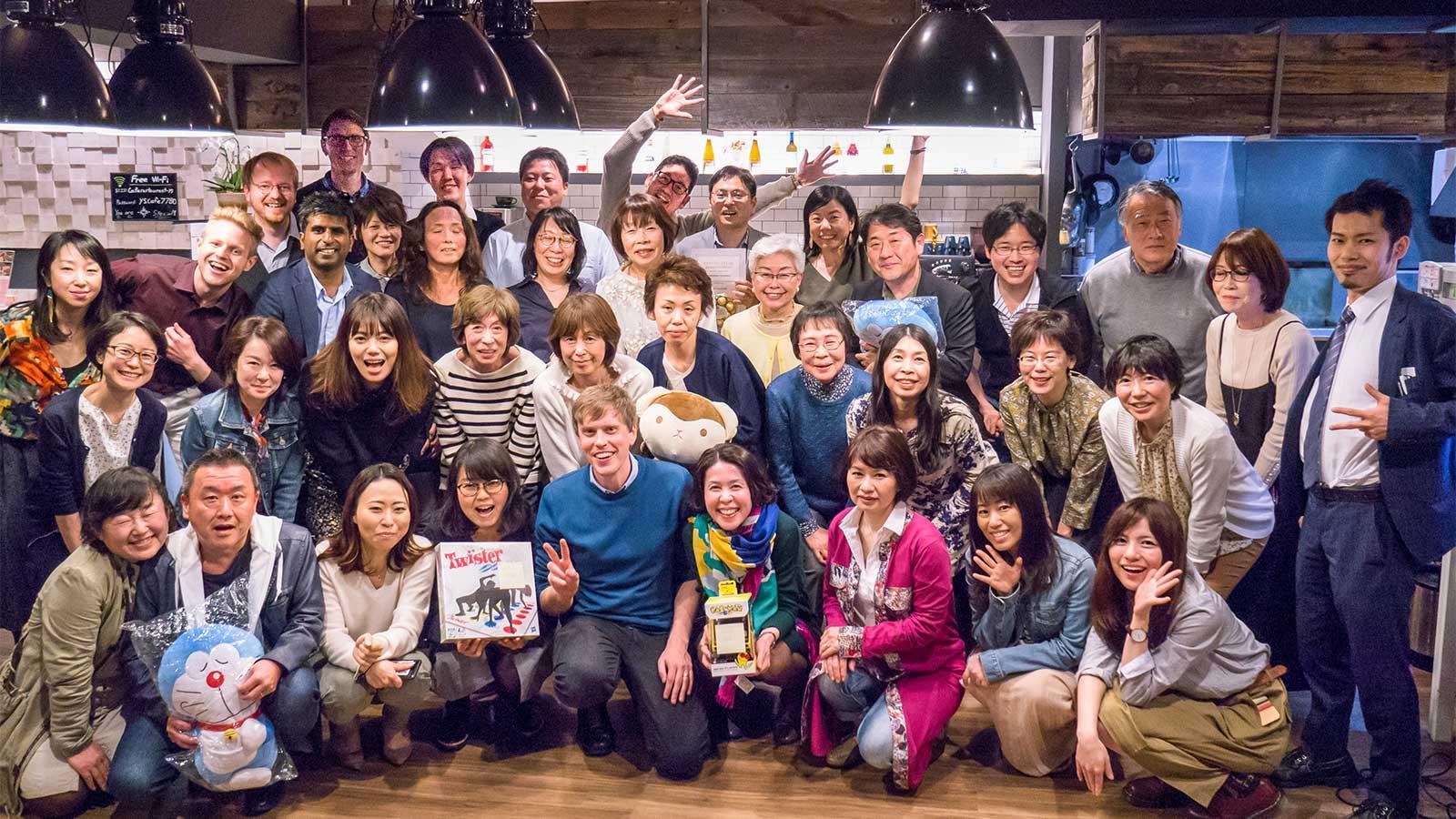 5周年記念パーティーの写真